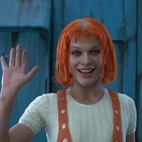 Mila Jovovich from the Fifth Element