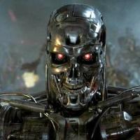 Terminator death robot face